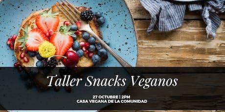 Taller de Snacks Veganos tickets