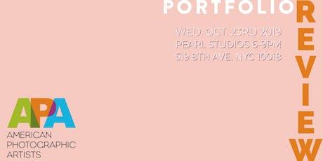 APA|NY 2019 Portfolio Review tickets