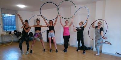 Hula hoop beginners