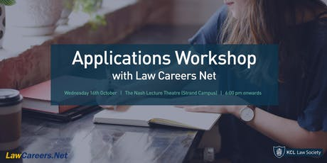 Law Careers Net Applications Workshop tickets