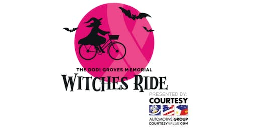 Inaugural Dodi Groves Memorial Witches Ride for Breast Cancer
