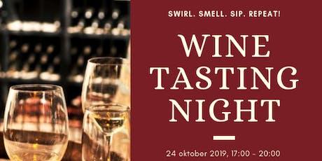 Swirl Smell Sip Repeat! Wijnproeverij voor ondernemers tickets