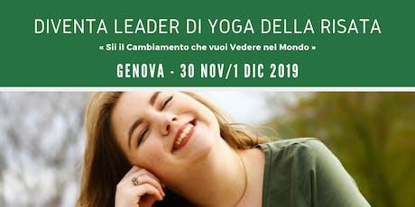 Leader Training Yoga della Risata - Genova biglietti