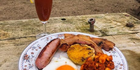 Brunch @ Padstow Kitchen Garden, cooked over fire  served in the polytunnel tickets