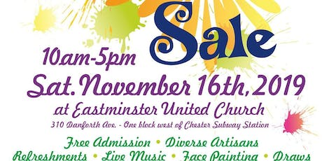 Toronto East Rotary Club's 10th Annual Arts and Crafts Sale tickets