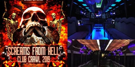Halloween Club Crawl 2019 TorontoHalloween Events tickets