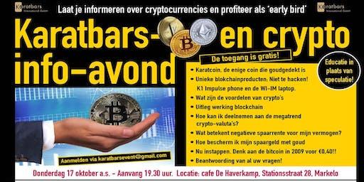 Karatbars Goud en Crypto info-avond