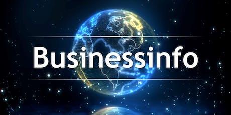 Businessinfo - So startest du dein eigenes weltweites Business! Tickets