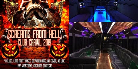 Halloween Bar Crawl Toronto 2019 tickets