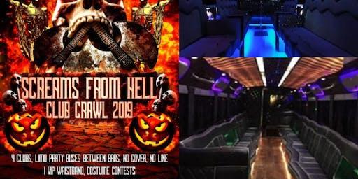Halloween Bar Crawl Toronto 2019