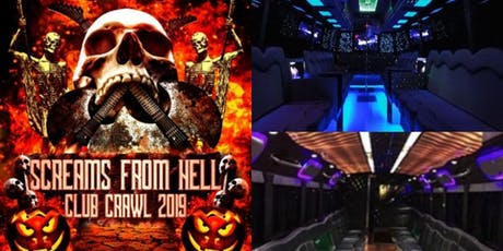 Halloween Pub Crawl 2019: Screams From Hell Toronto Party Crawl Event tickets