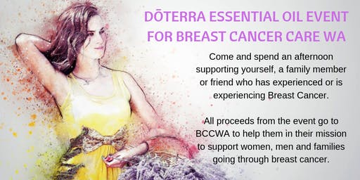 dōTERRA Fundraiser Event for Breast Cancer Care WA