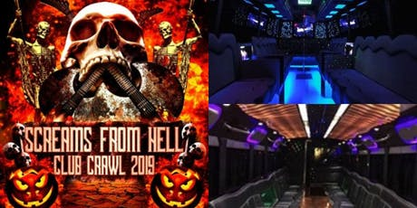 Halloween Party Crawl 2019 in Toronto: Screams From Hell tickets