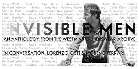 In Conversation | Lorenzo Osti and Moreno Ferrari tickets