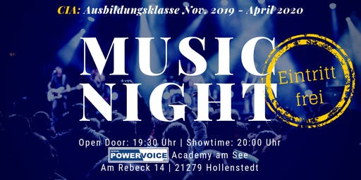 19. MUSIC NIGHT: CIA