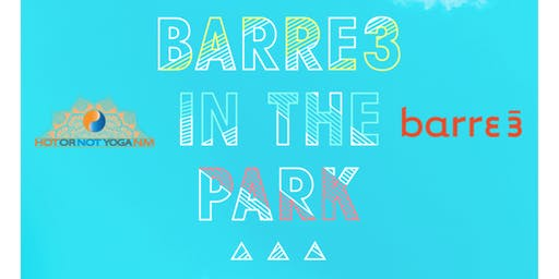 barre3 In The Park with Hot or Not Yoga!