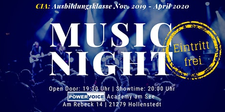 21. MUSIC NIGHT: CIA  Tickets