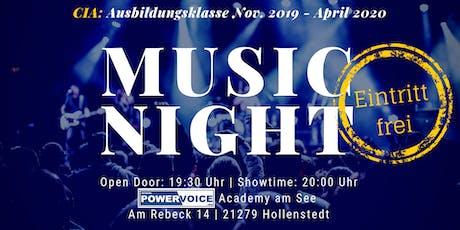 23. MUSIC NIGHT: CIA  Tickets