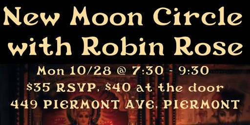 New Moon Circle with Robin Rose in Piermont