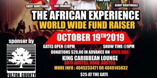 WRFG  African Experience Worldwide Fundraiser