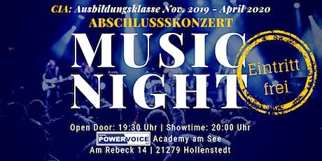 25. MUSIC NIGHT: CIA - ABSCHLUSSKONZERT Tickets