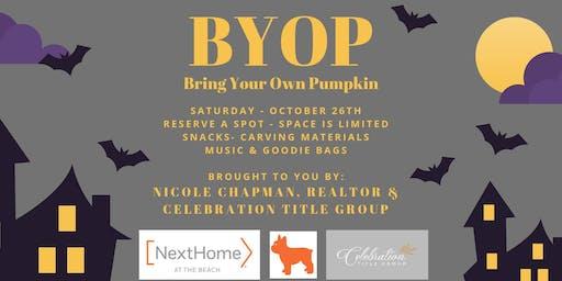 BYOP- Bring your own pumpkin