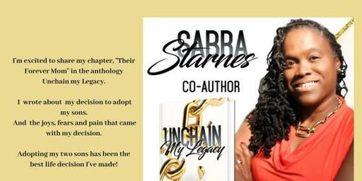 Unchain My  Legacy Book Talk with Sabra!