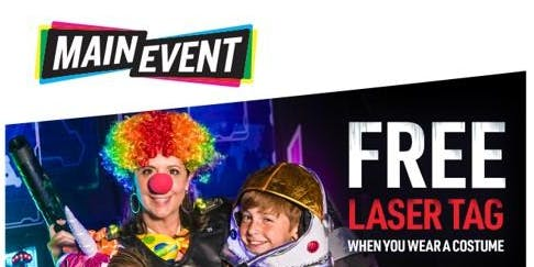 FUNTOBER - Halloween Trick-Or-Treat at Main Event Webster