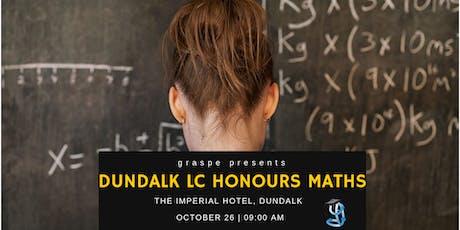 Dundalk Honours Level Leaving Cert Maths Revision Course tickets