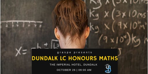 Dundalk Honours Level Leaving Cert Maths Revision Course