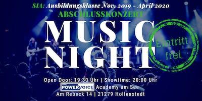 26. MUSIC NIGHT: SIA - ABSCHLUSSKONZERT