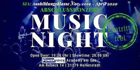 26. MUSIC NIGHT: SIA - ABSCHLUSSKONZERT Tickets