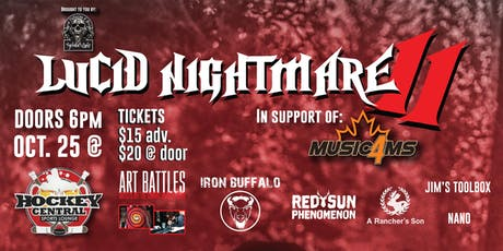 Lucid Nightmare 2 in support of Music4MS tickets