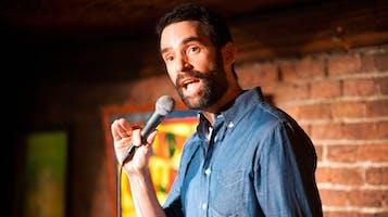 Comedian Phil Hanley