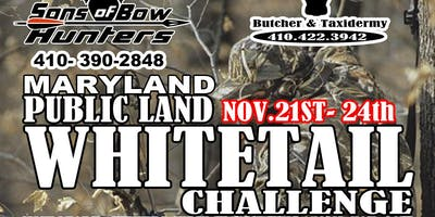 Maryland public land whitetail challenge