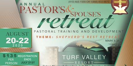 UCJC Pastor's Retreat tickets