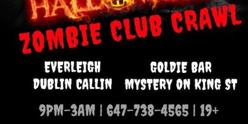 Halloween Bar Crawl Party Toronto 2019 Friday