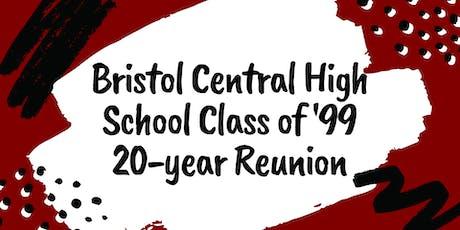 Bristol (CT) Central High School Class of '99 Reunion tickets