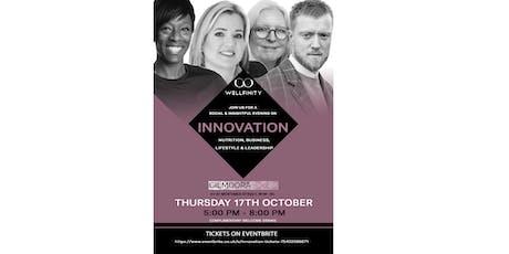 INNOVATION by Wellfinity Talks tickets