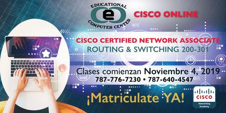 Cisco Certified Network Associate Routing & Switching entradas