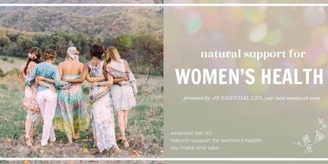 Natural Support for Women's Health tickets