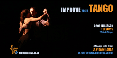 Improve your Tango in Cambridge!