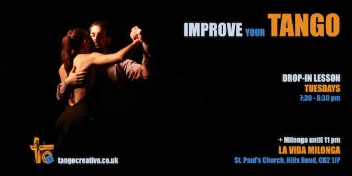 Improve your Tango in Cambridge!