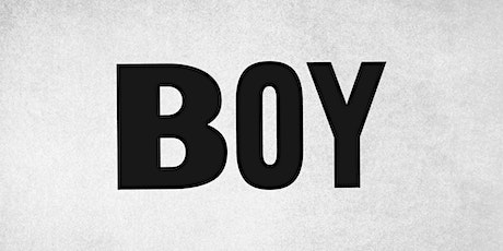 BOY - A Staged Reading tickets