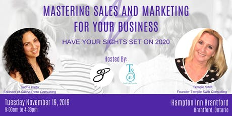 Mastering Sales and Marketing For Your Business tickets