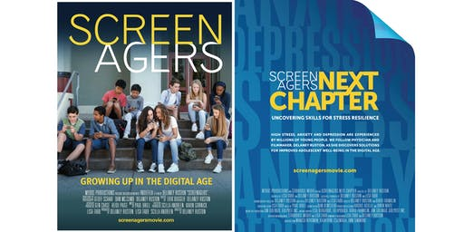 "Film Screening: ""Screenagers"" & ""Screenagers: NEXT CHAPTER"""