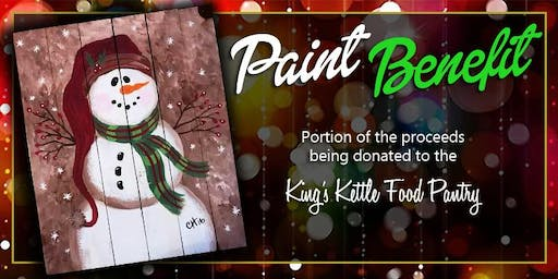 Paint Benefit for The King's Kettle Food Pantry