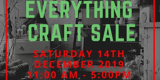 Local Craft Sale - Holiday Shopping