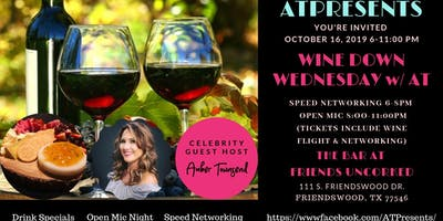 "ATPresents Wine Down Wednesday w/ AT ""Speed Networking & Wine"""