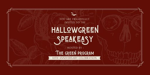 HallowGREEN Speakeasy: TGP's 10th Anniversary Celebration